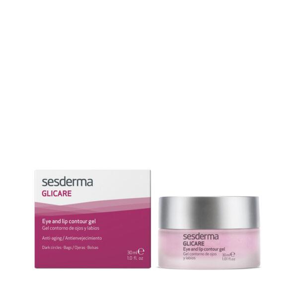 glicare - EYE AND LIP CONTOUR GEL glicare gel eye countour 33 Sesderma EYE CONTOUR-CARE GLICARE product 40000259 UK 2